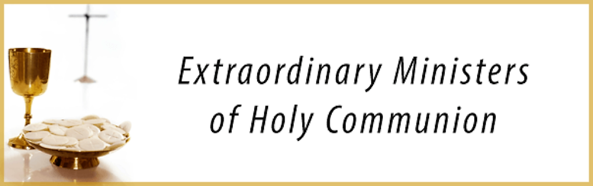 Extraordinary Ministers