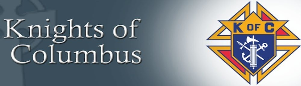 Cropped Knights Of Columbus Banner